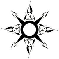 circular tribal tattoo by blakewise