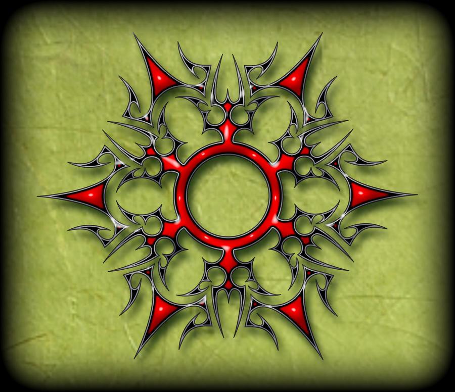 Tribal Ninja Star 2 by blakewise