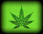 Tribal Pot Leaf V2