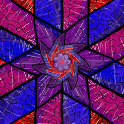 Geometric Flower Wing Thingy...