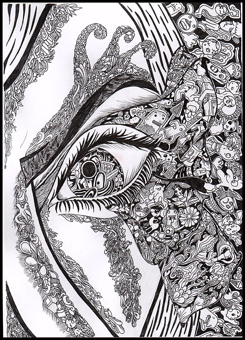 Abstract Eye View By Hibasarts On Deviantart