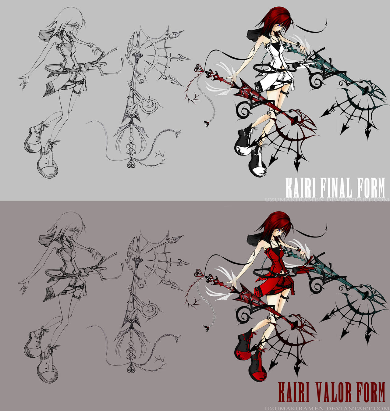 Dead Fantasy Kairi   Leave it up to me by UzumakiRamen