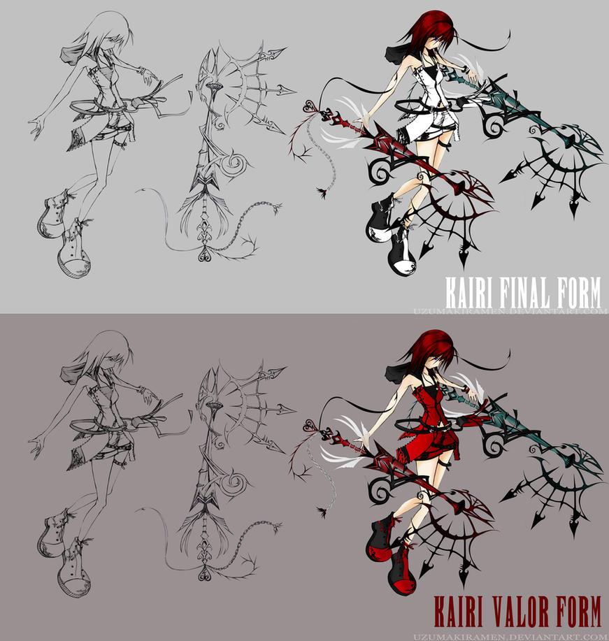 Dead Fantasy Kairi | Leave it up to me by UzumakiRamen
