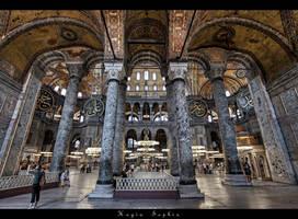 ...Hagia Sophia... by erhansasmaz