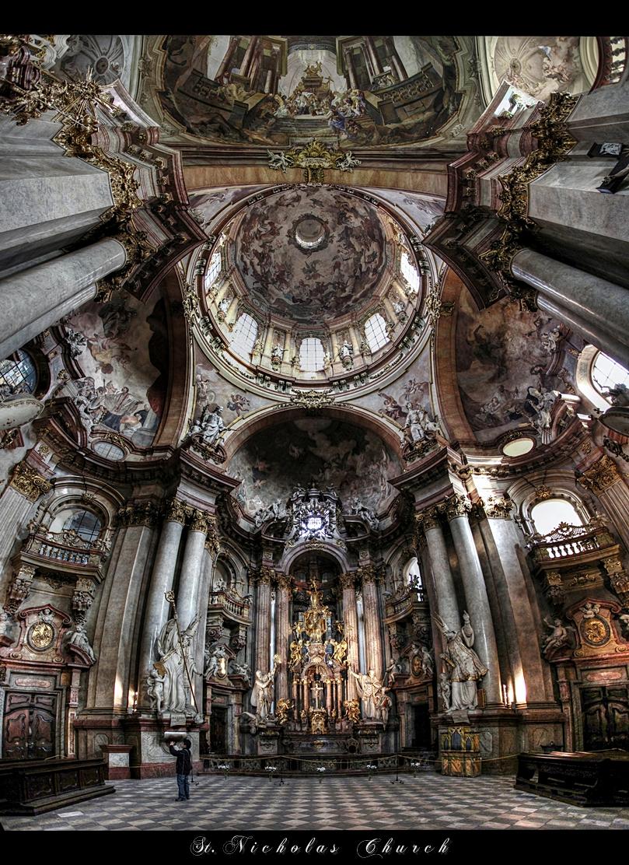 ...St. Nicholas Church...Prague by erhansasmaz on DeviantArt