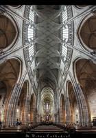 ...St. Vitus Cathedral...Prague by erhansasmaz
