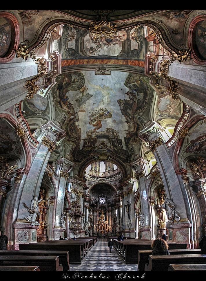 ...St. Nicholas Church 2...Prague by erhansasmaz