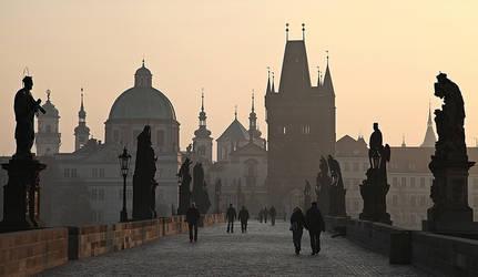 ...Charles Bridge...Prague by erhansasmaz