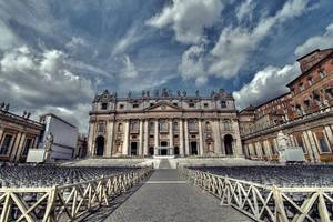 ...St.Peter's Basilica...Vatican by erhansasmaz