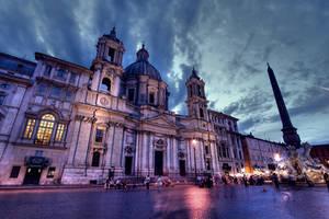 ...Piazza Navona...Rome by erhansasmaz