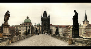 ... Charles Bridge ... Prague by erhansasmaz