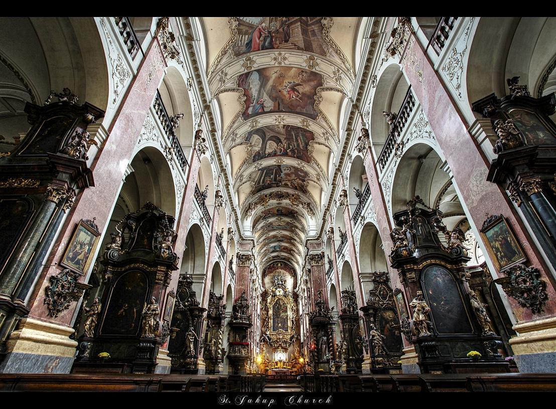 ... St. Jacob Church ... Prague by erhansasmaz