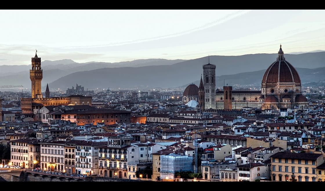 ...Florence Evening... by erhansasmaz
