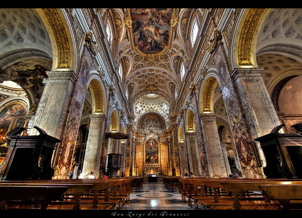 san luigi dei francesi by erhansasmaz on deviantart