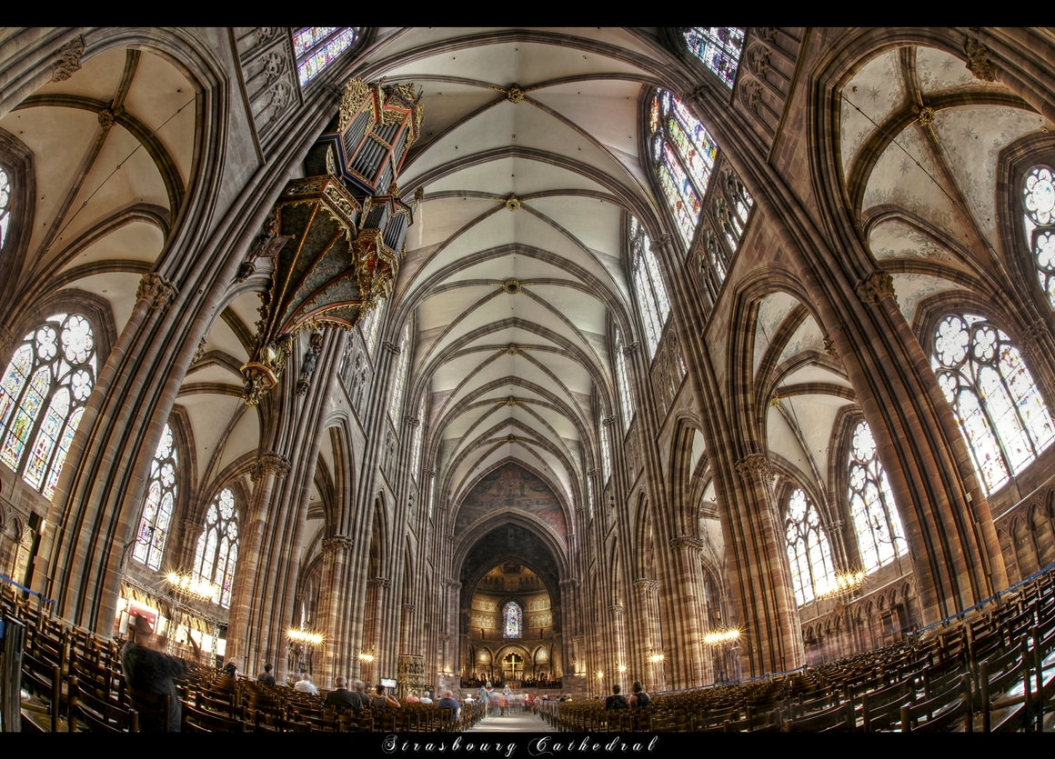 Strasbourg cathedral by erhansasmaz on deviantart for Strasbourg architecture