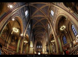 *Saint-Germain-des-Pres* by erhansasmaz