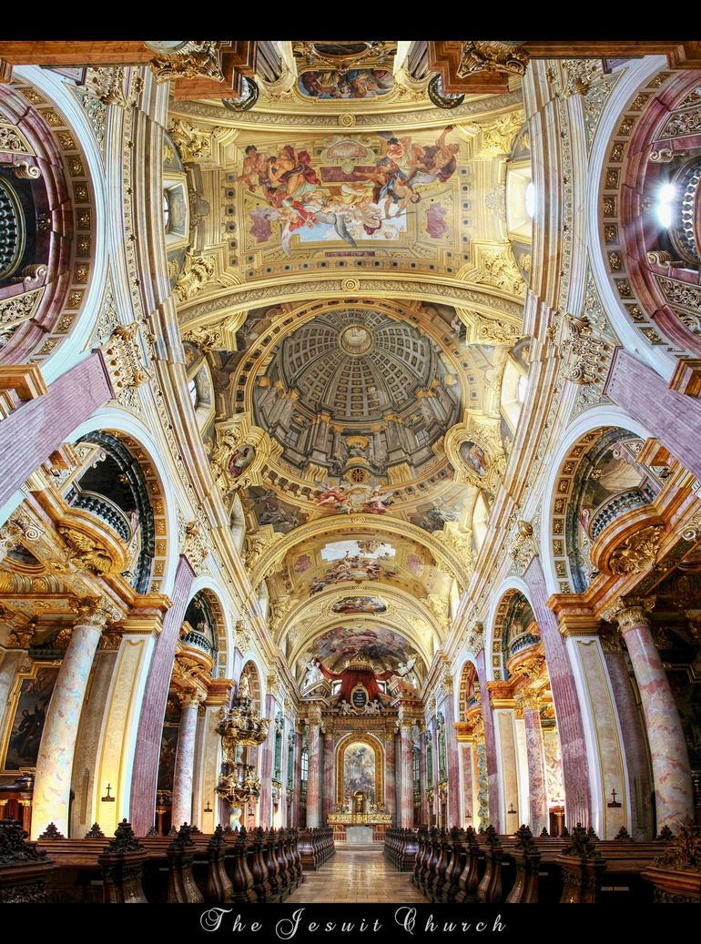*Jesuit Church* Vienna by erhansasmaz