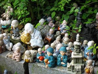 Buddhas Abound by jamesleeisbuff