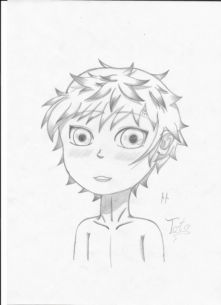 toto sakigami pencil drawing by zucker maus on deviantart
