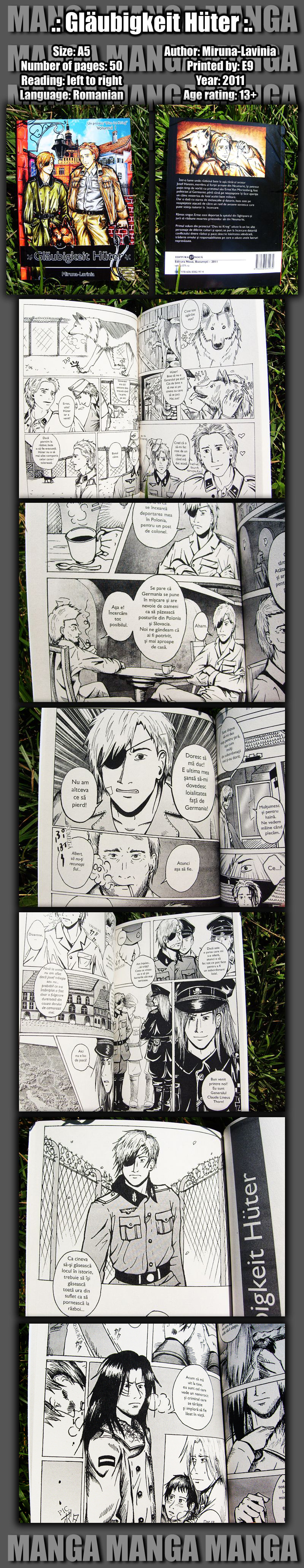 Dies ist Krieg manga vol1 SOLD by Miruna-Lavinia