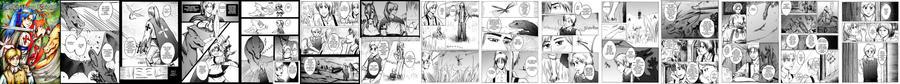 Schassburg Knight one-shot manga by Miruna-Lavinia