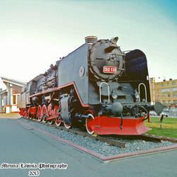 Cluj-Napoca steam locomotive