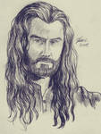 Thorin - sketch by Miruna-Lavinia