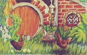 Hobbit home by Miruna-Lavinia
