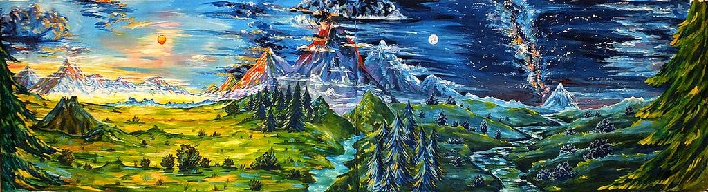 PROJECT LOTR - landscapes by Miruna-Lavinia