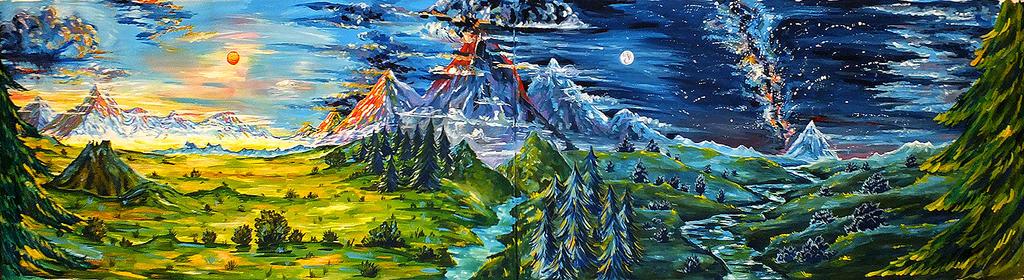 PROJECT LOTR - landscapes