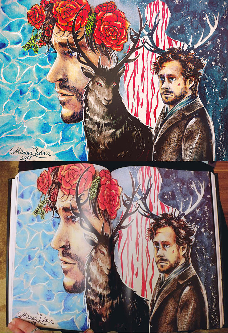 Inner Reflection - Radiance - A Fannibal Anthology by Miruna-Lavinia