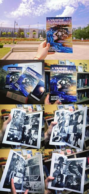 A Vampire in Kishinev comicbook