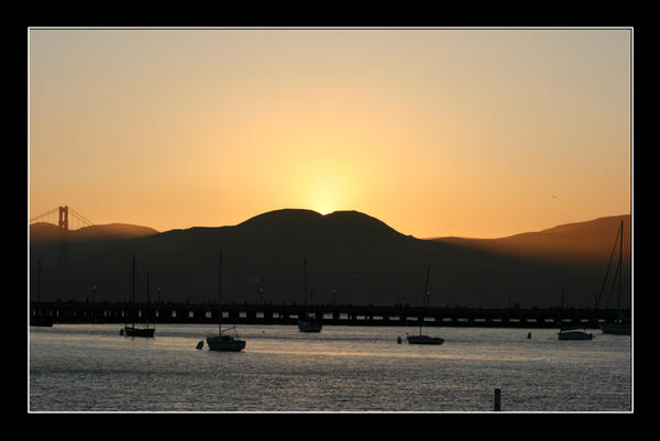 San Francisco Sunset by Loiissipoff