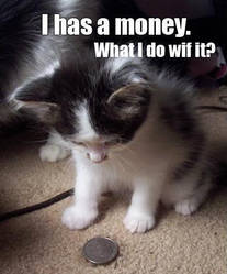 I have money... by Mephiles99