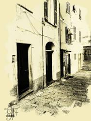 18x24-poster-caruggio-boccadasse- Printfile Defaul by emi64