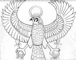 Horus by Mouse036