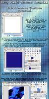 GIMP Easy Plaid Texture