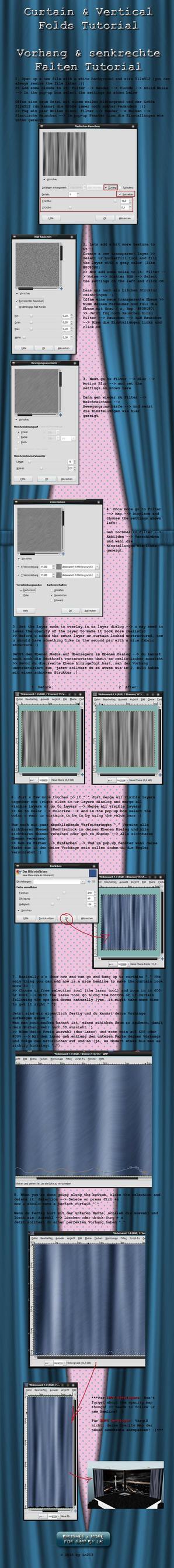 GIMP Curtain+Vertical Folds by el-L-eN