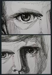 Schraffur Tusche#01 Detail