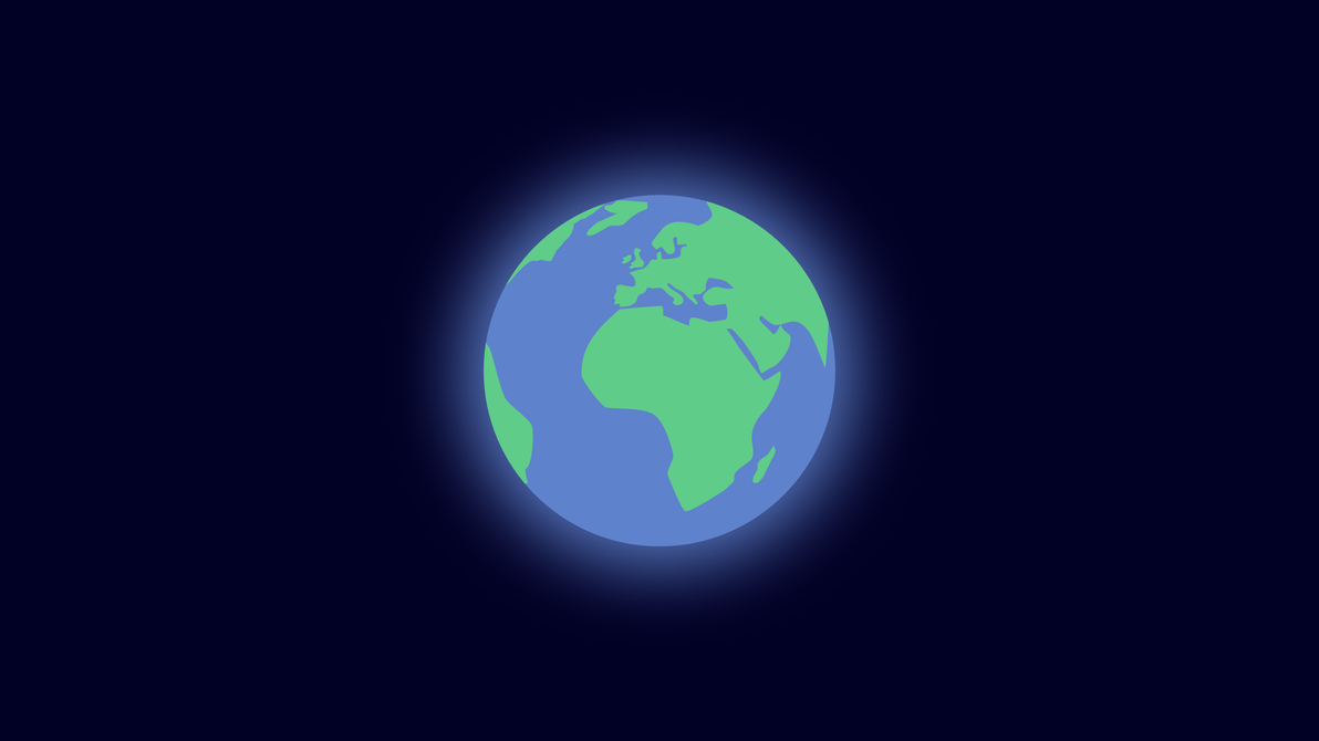Earth Minimalist By Zenzeii On DeviantArt