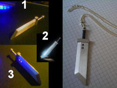 Cloud Strifes Sword 'Necklage' by Apollo-440