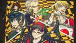 Persona 4 cross stitch by Anim-Soul