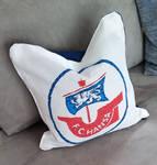FC Hansa Cross Stitch Pillow by Anim-Soul