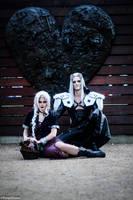Sephiroth/ Dark Aeris Cosplay