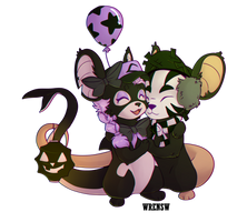 Some mice by vultone
