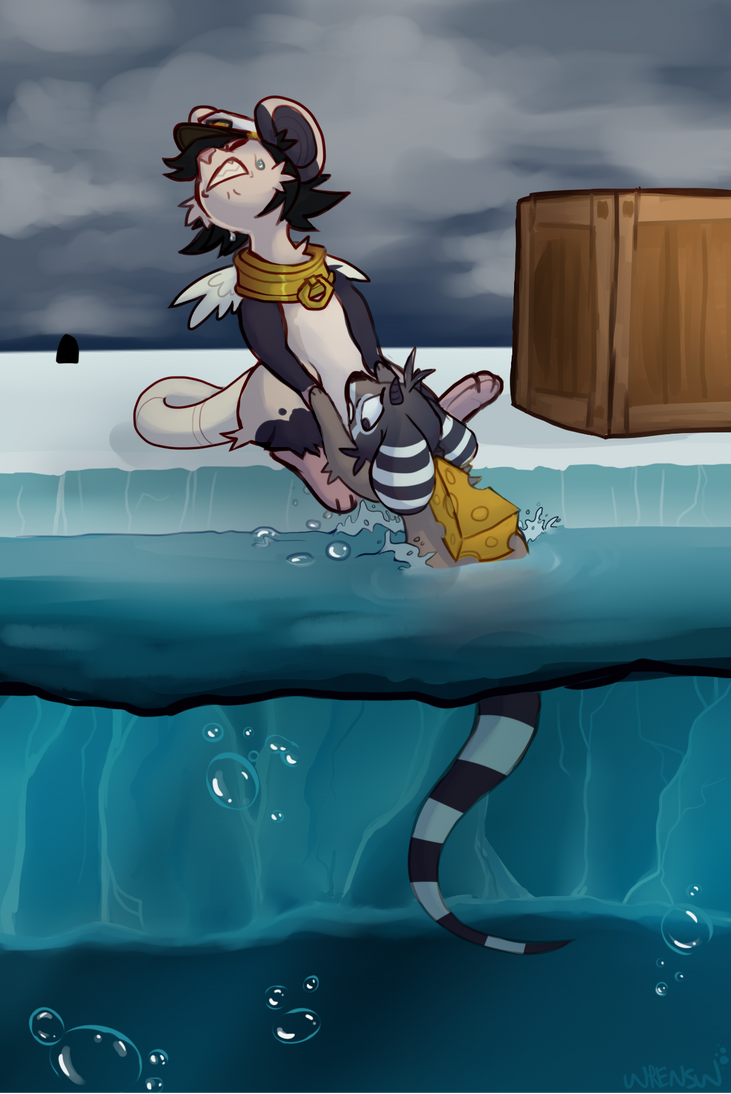 Water Maps by wrensw