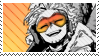 Hawks BNHA Stamp by vultone