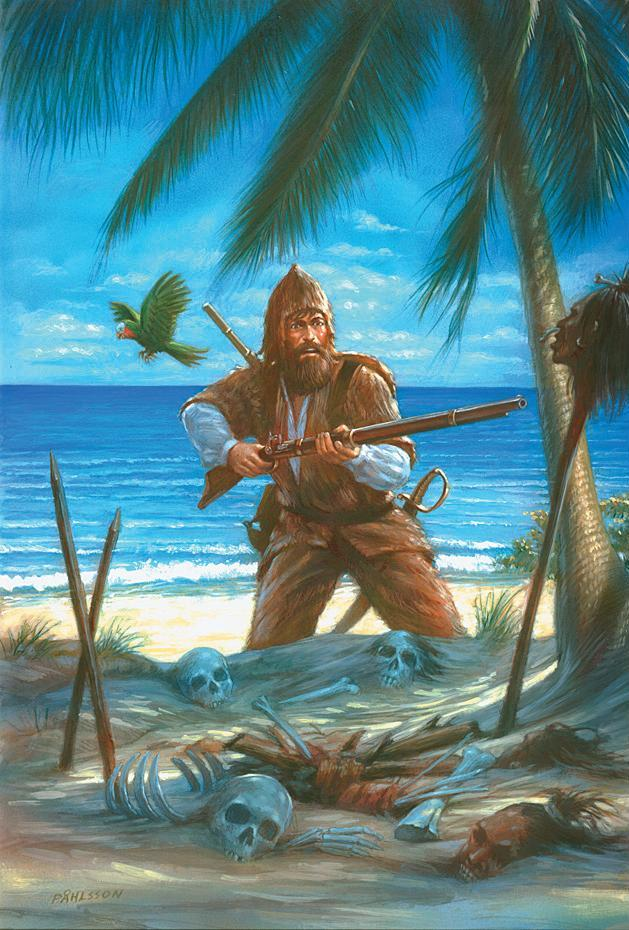 The story of robinson crusoe can