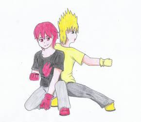 Zap y Kaji