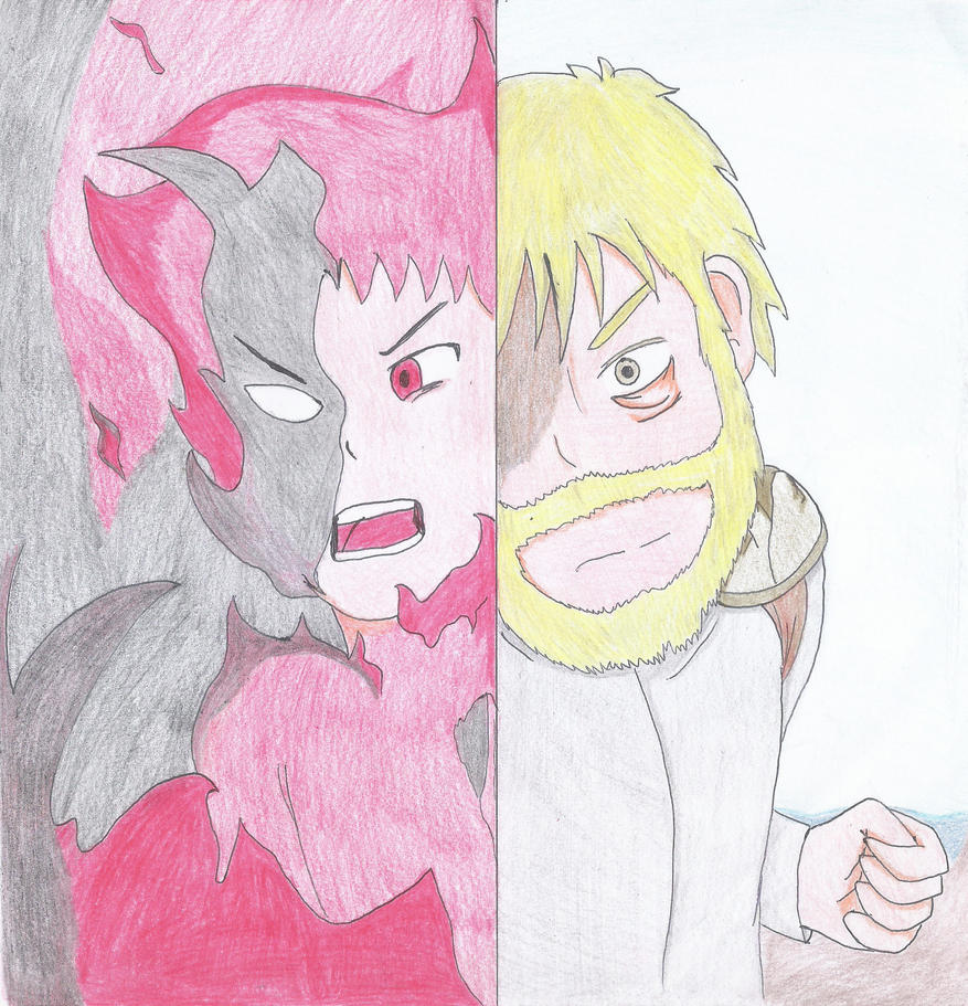 SPOILER Ember vs King by 5ElementosF